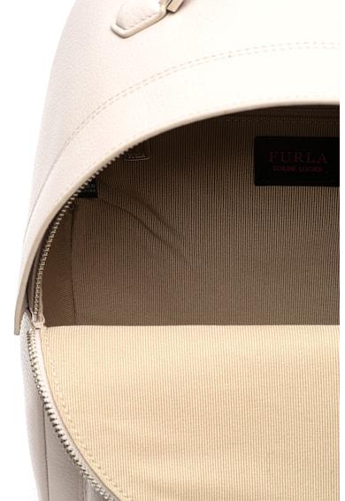 Furla Favola kis bőr hátizsák logórátéttel női