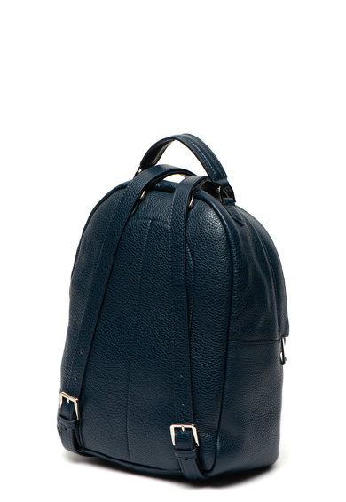 Furla Favola bőr és textil hátizsák logómintával női