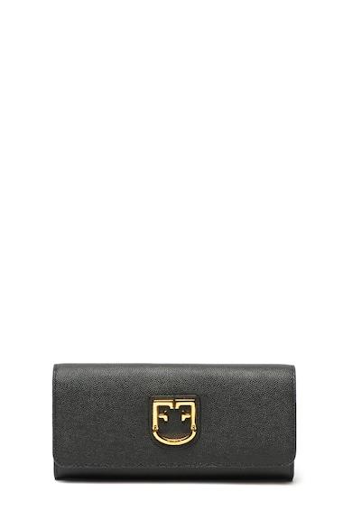 Furla Portofel de piele cu monograma metalica Belvedere Femei