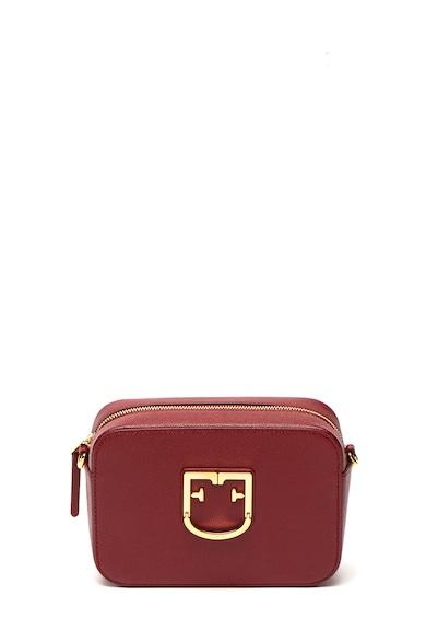 Furla Кожена чанта през рамо Brava с лого Жени