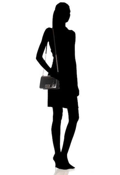 Furla Geanta crossbody mica de piele cu garnituri din piele de tipar Mimi Femei