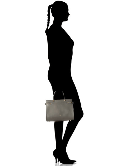 Furla Кожена ръчна чанта Lady Жени