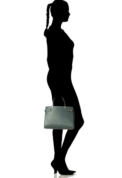Furla Кожена чанта за рамо Ottanio Жени