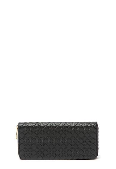 Furla Cipzáros bőr pénztárca dombornyomott logóval női