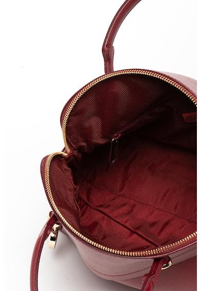 Furla Geanta de piele cu bareta de umar si accesoriu logo metalic Piper Femei