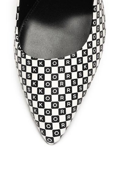 Michael Kors Кожени обувки Dorothy с висок ток Жени