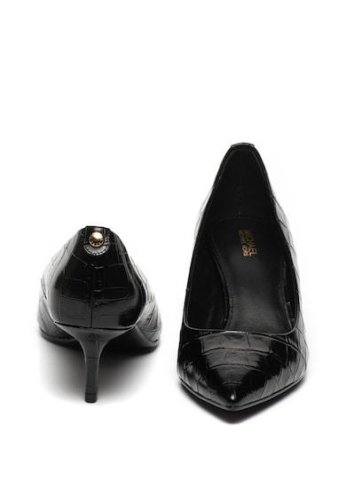 Michael Kors Pantofi de piele cu model reptila si toc kitten Flex Femei