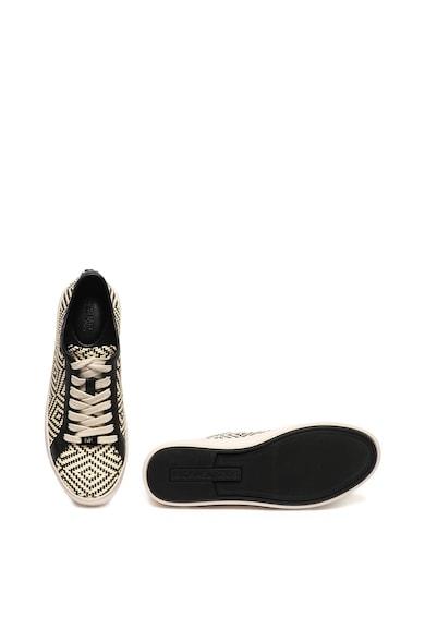 Michael Kors Olivia Weaved geometrikus mintás sneaker női