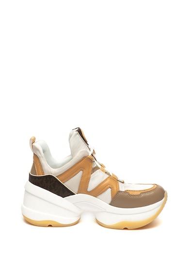 Michael Kors Спортни обувки Olympia с кожени детайли Жени