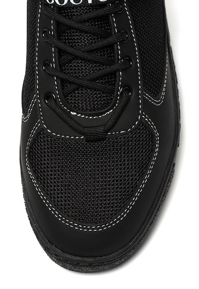 Versace Jeans Couture Pantofi sport inalti cu detaliu cu catarama Barbati