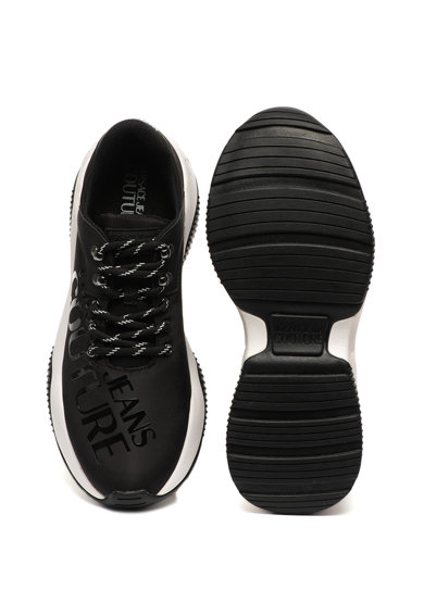 Versace Jeans Couture Pantofi sport low cut cu imprimeu logo Barbati