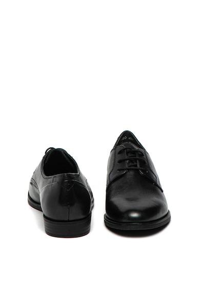 Tamaris Pantofi derby de piele Femei