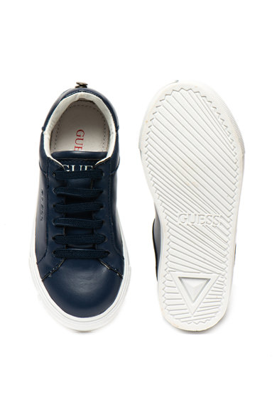 Guess Pantofi sport slip-on de piele ecologica Fete