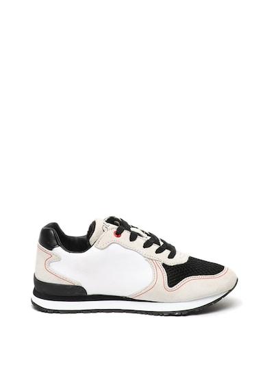 Guess Pantofi sport cu garnituri de piele intoarsa Baieti