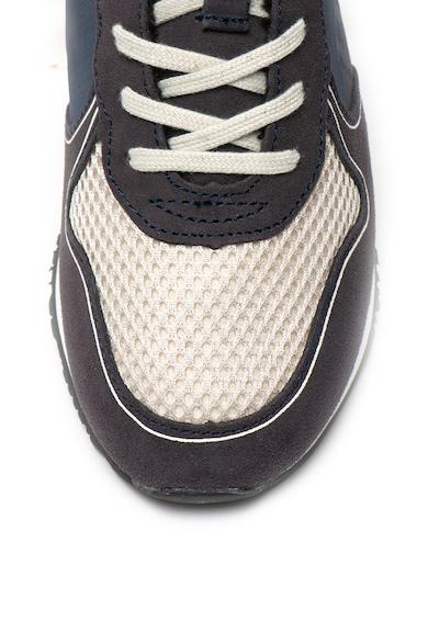 Guess Pantofi sport cu insertii de piele si captuseala din material teddy Baieti
