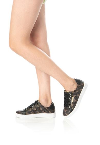 Guess Logómintás műbőr sneaker női