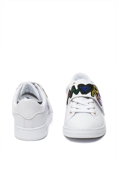 Guess Műbőr sneaker strasszkövekkel díszítve női