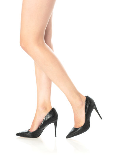 Guess Кожени обувки с ток стилето Жени