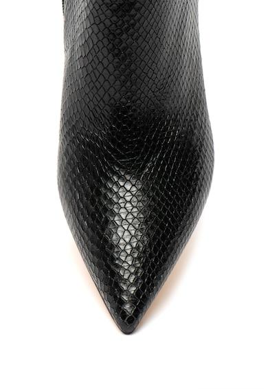 Guess Botine de piele cu model piele de sarpe Femei