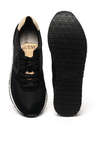 Guess Sneaker nyersbőr szegélyekkel férfi