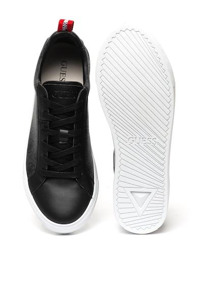Guess Logómintás műbőr sneaker férfi