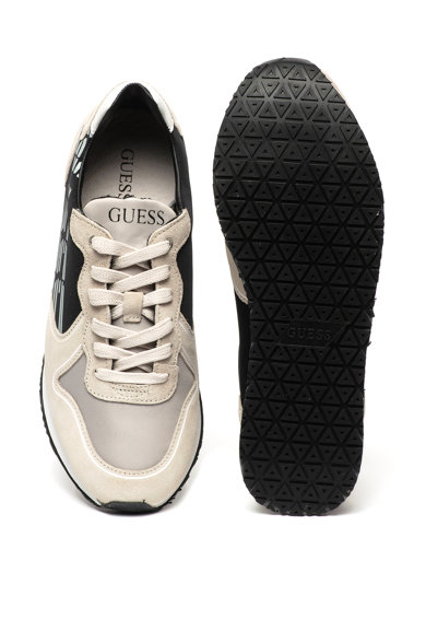 Guess Pantofi sport cu insertii de piele intoarsa Barbati