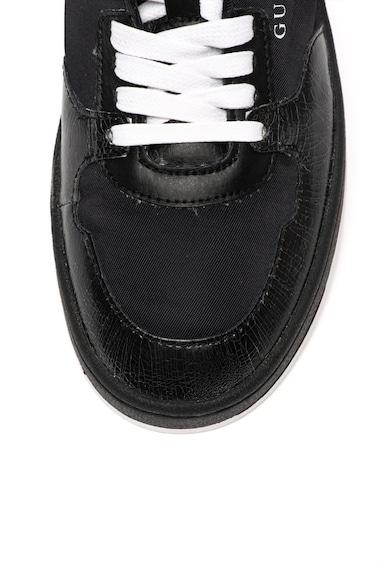 Guess Pantofi sport cu garnituri de piele Barbati