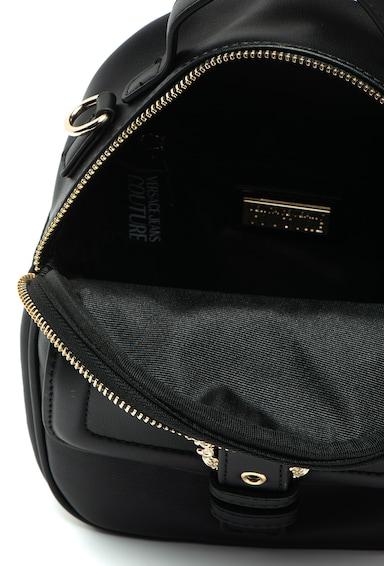 Versace Jeans Couture Rucsac mic de piele ecologica, cu detaliu filigran Femei