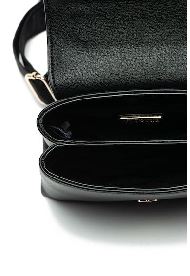 Versace Jeans Couture Műbőr keresztpántos táska fémrészletekkel női