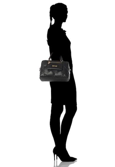 Versace Jeans Couture Geanta de mana, de piele ecologica cu aspect matlasat Femei