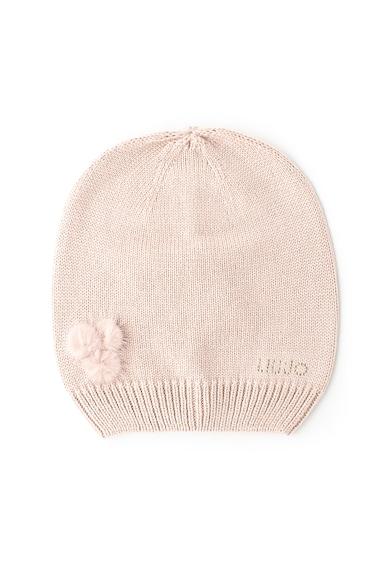Liu Jo Фино плетена шапка с помпон Жени