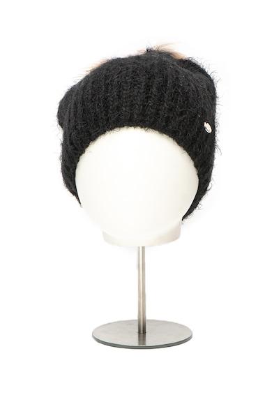 Liu Jo Caciula din tricot cu ciucure din blana sintetica Femei