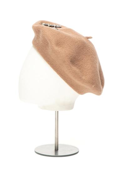 Liu Jo Bereta de lana cu aplicatii de strasuri Femei