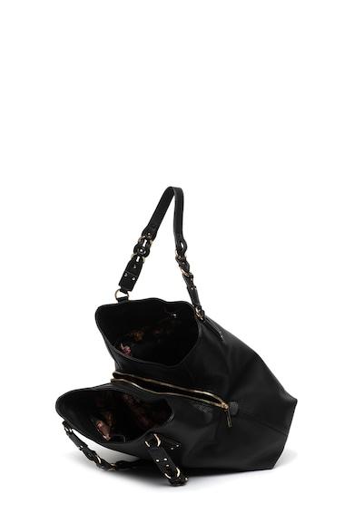 Liu Jo Geanta de piele ecologica cu bareta pentru umar si aplicatie logo Femei