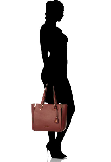 Liu Jo Geanta de piele ecologica, cu bareta de umar si accesoriu logo Femei