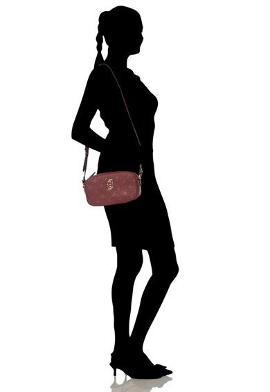 Liu Jo Műbőr keresztpántos táska hímzett logóval női