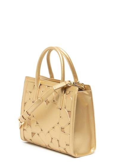 Love Moschino Чанта от еко кожа с релефни сърца Жени