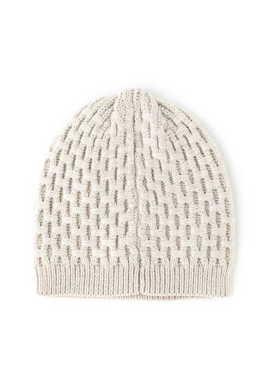Guess Плетена шапка Жени
