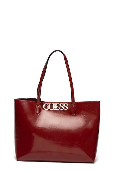 Guess Geanta shopper de piele ecologica, cu etui interior Uptown Chic Femei