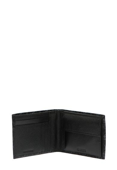 Guess Кожено портмоне с двойно прегъване Мъже
