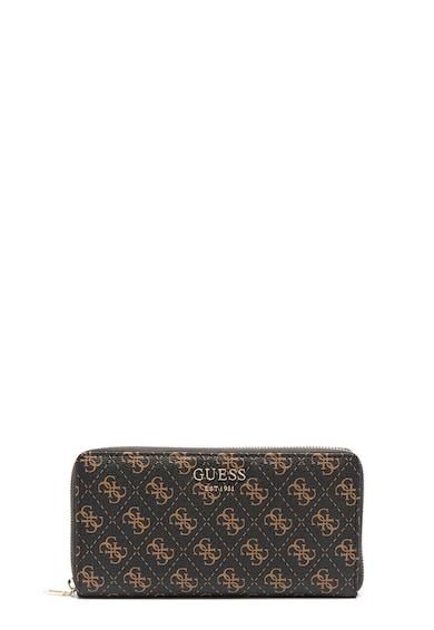 Guess Logo Rock cipzáros pénztárca logómintával női