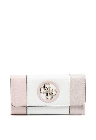 Guess Műbőr colorblock pénztárca női