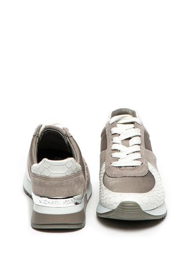 Michael Kors Pantofi sport cu garnituri de piele intoarsa Allie Femei