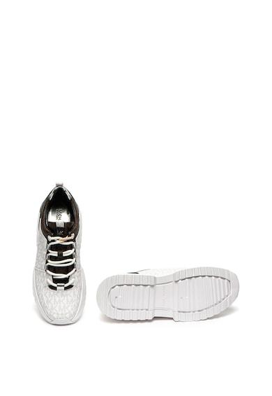 Michael Kors Pantofi sport de piele ecologica cu model monograma Cosmo Femei