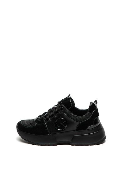 Michael Kors Спортни обувки Cosmo с кожа и велур Жени