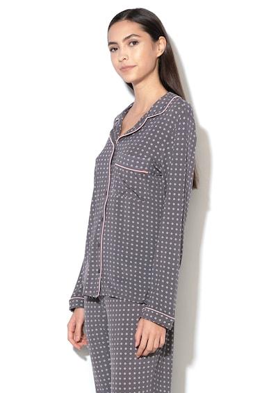 Dorina Bluza de pijama din amestec de modal, cu imprimeu grafic Esme Femei