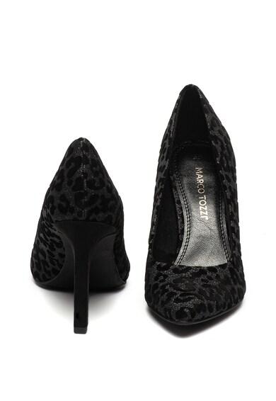Marco Tozzi Обувки с ток стилето и животинска шарка Жени