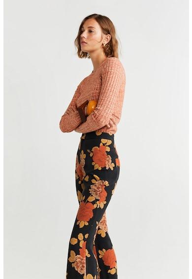 Mango Флорален панталон Night Жени