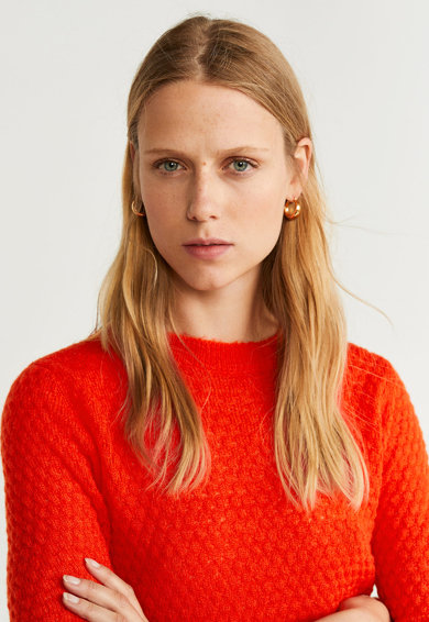 Mango Pulover tricotat Dragon Femei