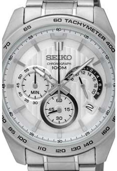 Seiko Ceas cronograf cu bratara metalica Barbati